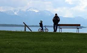 wait bench father son personal free photo on pixabay