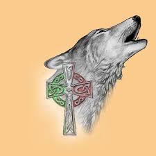 celtic wolf design best designs