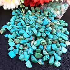 home decor drop shipping 50g blue turquoise crystal gemstone rough stone mineral specimen