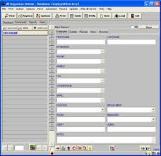 Free Employee Database Template In Excel by Simple Employee Phone Directory Software For Windows