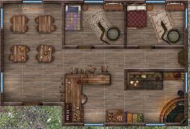 rpg floor plans little tavern 1st floor by house velovasse on deviantart