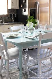 Kitchen Table Colors by How To Paint A Laminate Kitchen Table Confessions Of A Serial Do
