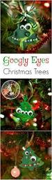 christmas tree clay ornaments simple christmas googly eyes and