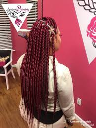 red cornrow braided hair 15 most cute curly hairstyles for women over 30 burgundy box