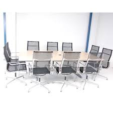 10 seater conference table 10 seater boardroom table maple meeting table large conference table