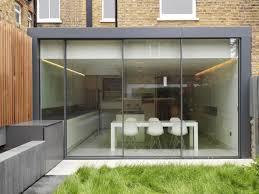 Frameless Patio Doors Modern Frameless Sliding Glass Doors Design Ideas For Backyard