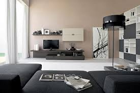 modern living room with fireplace unique white floor lamp round
