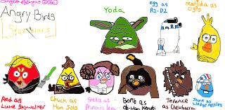 angry birds star wars digital drawing angelalovesrio505