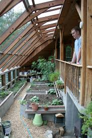 the greenhouse at sirius ecovillage uses solar exposure a shared