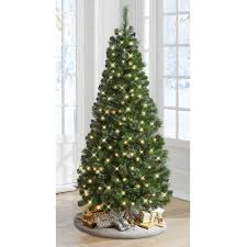 the decoratable pull up christmas tree hammacher schlemmer