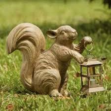 squirrels garden statues hayneedle