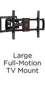 black friday tv mounts amazon com echogear full motion articulating tv wall mount