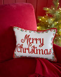 christmas needlepoint merry christmas needlepoint pillow