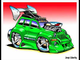 jeep liberty cartoon cool car sketches youtube