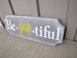 be you tiful distressed wood sign 15 00 via etsy want this