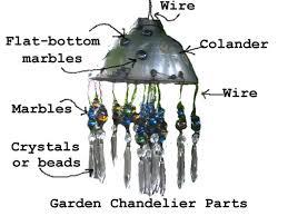 Repurposing Old Chandeliers Make A Repurposed Garden Chandelier Hometalk