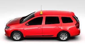 renault logan 2016 renault logan mcv taxi 2016 3d model vehicles 3d models mcv 3ds