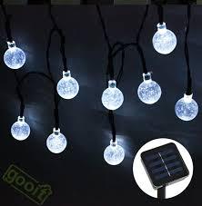 solar powered led fairy lights garden fairy lights solar powered american gardener