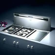 hotte de cuisine escamotable hotte integree dans plan de travail hotte aspirante escamotable