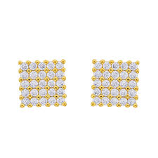 honey singh earrings bebold honey singh inspired gold piercing cz stud bali earring for
