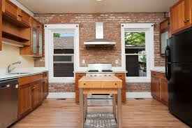 brick kitchen ideas appealing brick wall in kitchen and best 25 exposed brick kitchen