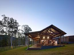 hinterland house captures the spirit of rural australian style by