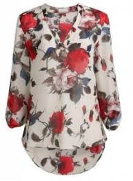 stein mart blouses amazon s apricot floral printed v neck high low blouse only
