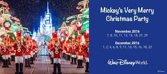 traveling disney mickey u0027s merry christmas party 2016