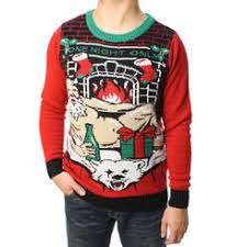Ugly Christmas Sweater With Lights Ugly Christmas Sweater Men U0027s Sweaters Sears