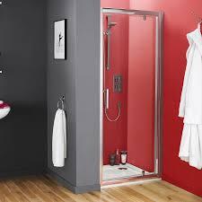 Pacific Shower Doors Premier Pacific Pivot Shower Door 760mm