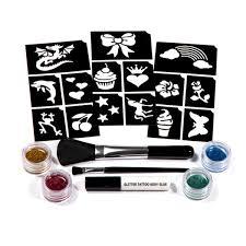 table de tatouage fiches maquillage pour enfant oxybul eveil jeux