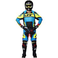 motocross gears new jt racing 2017 mx gear protek trophy black cyan yellow
