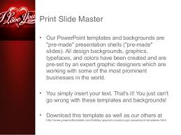i love you powerpoint template by poweredtemplate com