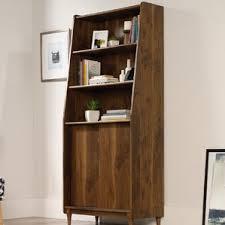 Sliding Door Bookcase Bayside Sliding Door Bookcase Wayfair