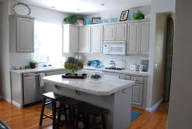 Brown And White Kitchen Cabinets Kitchen Remodel White Cabinets Black Appliances Best Home