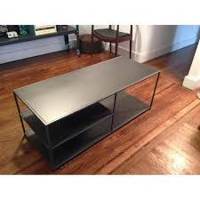 Cb2 Coffee Table by Cb2 Carbon Mondrian Media Console 6 Your First Apartment