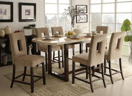 granite top dining table granite counter height dining table set