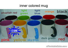 inner colored sublimation mugs inside color mugs mug for sale