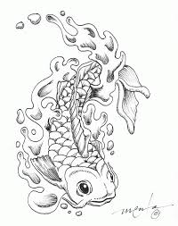 koi coloring pages coloring home