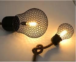 Pendant Lights For Living Room Vintage Rope Pendant Light Lamp Loft Creative Personality