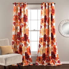 Burnt Orange Curtains Uncategorized Burnt Orange Sheer Curtains In Trendy Orange