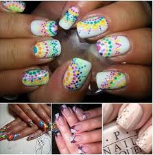 nail art and gel polish on natural nails belfast inspire therapy