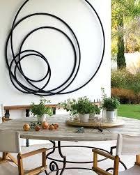 awesome metal circle wall decor – dway