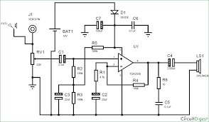 circuit diagram for subwoofer lifier using ic tda2030