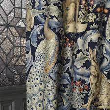 William Morris Wallpaper by William Morris Forest Fabric In Indigo