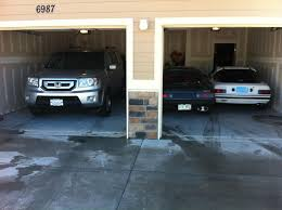 Two Car Garage Size by 3 Cars In A 2 Car Garage Rx7club Com Mazda Rx7 Forum