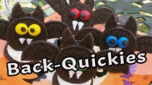 back quickies halloween oreo fledermaus youtube