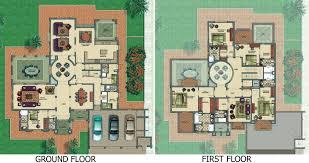 Family Compound Floor Plans Victory Heights Floor Plans Dubai Sports City Horizon Type