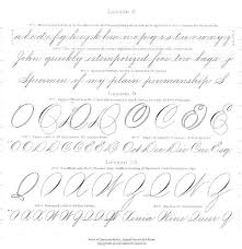 162 best jl spencerian writing images on