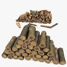 searched 3d models for cut chop wood log pile 2 1
